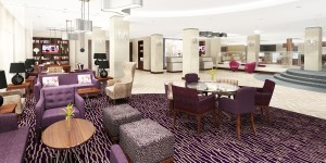 CULTURE OF CLASS – magnificent reception and lounge area in DoubleTree by Hilton
