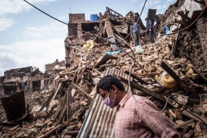 A DARK TIME – the devastating earthquake rocked Nepal